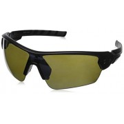 Under Armour Rival Shield Sunglasses, Satin Black/Charcoal Gray, 42 mm