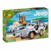 Set de construit Jeep Willys MB Paza de coasta 250 piese - Cobi