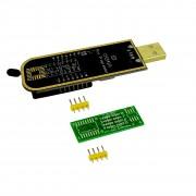 Programator de memorie CH341a cu USB pentru FLASH, EEPROM din Seria 24xx și 25xx