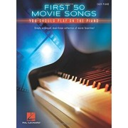 First 50 Movie Songs You Should Play on the Piano, Paperback/Hal Leonard Corp