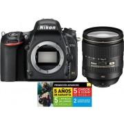 Nikon Kit Cámara Réflex NIKON D750 24-120MM F4 VR (24 MP - ISO: 100 a 12 800 - Sensor: Full-Frame)