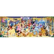 Puzzle panoramic Ravensburger - Personajele Disney, 1.000 piese (15109)