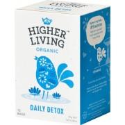 HIGHER LIVING Daily Detox Tea - 15 Beutel