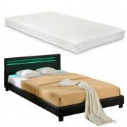 """Corium® Čalouněná postel """"Paris"""" s matrací HTB-1018"""