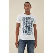 Salsa T-Shirt, kurzarm »Palm beach«