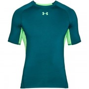 Under Armour HeatGear Armour Compression - T-shirt fitness - uomo - Green
