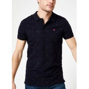 Scotch & Soda Vêtements - Scotch & Soda - Classic garment-dyed pique polo with all-over print