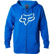 Fox Legacy head Zip Fleece Sudadera con capucha Azul S
