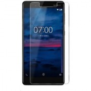 Tempered Glass Screen Protector 0.3mm Thickness (2.5D Curve) Scratch Resistant for Nokia 3.1