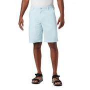 Columbia Pantalón Corto Informal para Hombre, Azul (Sky Blue), 34x10