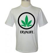 Camiseta Erva Life - Coleção Marcas
