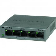Комутатор Netgear 5 x 10/100/1000 Gigabit Switch (metal case) - GS305-100PES