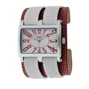EOS New York TRENDSETTER Watch White/Red 19L