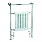 Continental Bromley (67,3x96,3 cm) Klassieke radiator 786 Watt Chroom