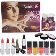 Instaglow Facial Kit (250+10)g with Makeup Kit
