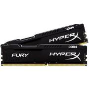 HyperX 16GB KIT DDR4 2400MHz CL15 Fury fekete sorozat