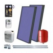 Set cu 2 panouri solare plane Idella Family Standard IFST 2.08 mp fara boiler solar