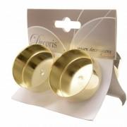 Decoris Gouden waxinelichthouders 4 stuks
