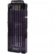 Clips De Bala Suaves 12 Balas Para Nerf N-strike Pistola Juguete - Negro Transparente