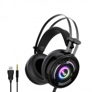 Gaming Wired Headset Headphone with Noise Cancelling Mic for PC Laptop Xbox One Switch PS4