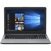 "Лаптоп ASUS VivoBook 15 X542UA-GO361T 15.6"" HD, i5-8250U, 4 GB, Star Grey"