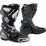 Forma Motorrad-Stiefel lang Motorrad-Schuh Ice Pro Flow Stiefel schwarz 44 schwarz