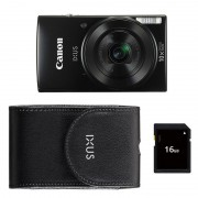 Canon Ixus 190 Essentials kit compact camera Zwart