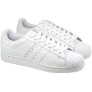 ADIDAS ORIGINALS Superstar Sneakers For Women(White)
