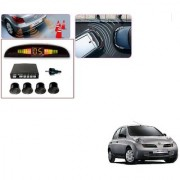 Auto Addict Car Black Reverse Parking Sensor With LED Display For Nissan Micra