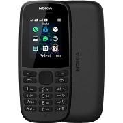 Nokia 105 (2019) fekete dupla SIM