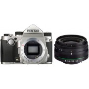 PENTAX KP + 18-50mm RE Prata