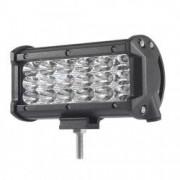 LED Bar Auto 54W leduri pe 3 randuri 12V-24V 3780 Lumeni 5/12 7 cm Combo Beam 12/60 Grade