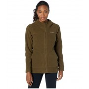 Columbia Canyon Pointtrade Hooded Sherpa Full Zip Olive Green