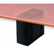 Newstar CPU-D025BLACK Desk-mounted CPU holder Black CPU holder