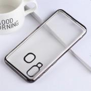 Bakskal TPU Samsung Galaxy A40 Svart/Klar