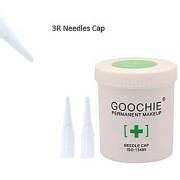 Goochie Permanent Makeup M9 Disposable Needles And Needles Tips/Cap (3R - 50 Tips/cap)