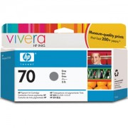 HP 70 130 ml Grey Ink Cartridge with Vivera Ink, HP Designjet Z3100 - C9450A