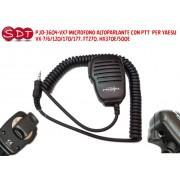 PJD-3604-VX7 MICROFONO ALTOPARLANTE CON PTT PER YAESU VX-7/6/120/170/177, FT270, HX370E/500E