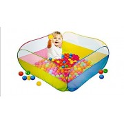 Chris & Nylah's Baby Ball Pool for Babies and Toddlers with 50 Balls Free