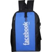 Mody 17 inch Laptop Backpack(Black, Blue)