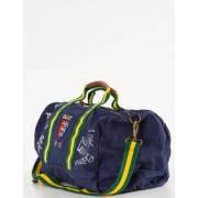 Ralph Lauren, NAVY POLO DUFFEL, Blå, Väskor/Necessärer till Unisex, One size