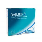 Alcon Dailies AquaComfort Plus +8.00 journalières 90 lentilles de contact Alcon +8.00 Nelfilcon A II