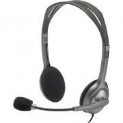 Casti Audio H110 Over Ear, Stereo, Microfon Reglabil, Mufa Jack 3,5 mm, Negru LOGITECH