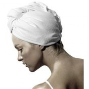 Smart Microfiber SPA Hair Wrap White