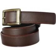 Jars Collections Men Brown Genuine Leather Belt