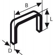 Bosch spajalica od tanke žice tip 53 11,4 x 0,74 x 8 mm - 1609200365