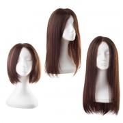 Rapunzel® Parrucche Parrucca Lace Capelli naturali 2.3 Chocolate Brown 45 cm