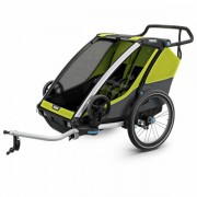 Thule Chariot Cab2 Rimorchi per bambini nero/grigio