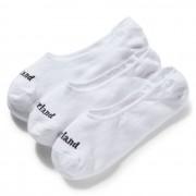 Timberland 3 Paires De Socquettes Sagamore Beach Pour Homme En Blanc Blanc, Taille M