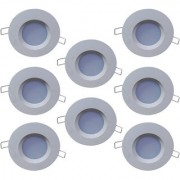 Bene LED 3w PP Round Ceiling Light Color of LED Green (Pack of 8 Pcs)